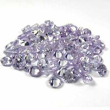 Round Cut 11mm~Lavender Sapphie Simulated ~Cubic Zirconia~ ~Lot Availble Stone