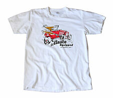 Vintage Ansen Equipped Decal T-Shirt - Hot Rod, Gasser, Los Angeles Speed Shop
