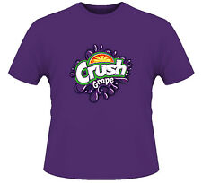 Grape Crush Soda Pop Junk Food Candy T Shirt