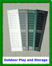 """27"""" SHED SHUTTERS  PLAYHOUSE PLASTIC PLAY HOUSE WINDOWS HINGES PARTS"""