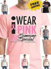 Breast Cancer Awareness I wear Pink For someone Special Fight for Cure t-shirt