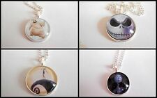 NIGHTMARE BEFORE CHRISTMAS necklace-choose immagine-Jack, Sally, oogie Boogie ETC