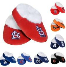 MLB Baseball Team Logo Childrens Infants Baby Booties Slippers Shoes Great Gift!