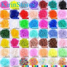 New 600 PCs 24 Clips Bands Refills For Rainbow Loom Bracelet Dress Skirt Making
