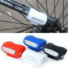 New Cycling Bicycle Bike #B 7 LED Silicone Super Frog Front Light Lamp Headlight