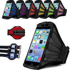 Mesh Sports Armband Case Gym Running Jogging Cover for Apple iPhone 5 5c 5s 6 5g
