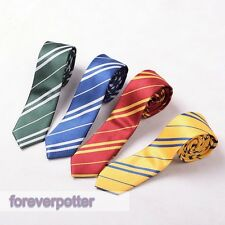 New Harry Potter Tie Ravenclaw Hufflepuff Gryffindor Slytherin Costume Accessory