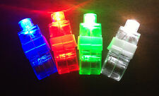 LED finger light laser beam flash toy glow ring flashlight party club rave dance