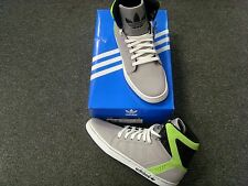 NEW ADIDAS ADI HIGH EXT SNEAKERS GREY BLACK WHITE LIME