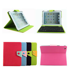 Fashion Colors Stand Leather Cover Case Bluetooth Keyboard For Apple iPad 2 3 4