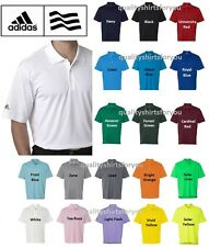 ADIDAS Mens Size S-3XL Dri Wick Climalite GOLF Polo Sport Shirts 12 Colors A130