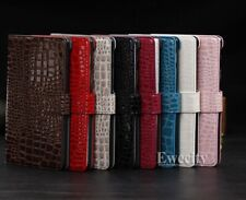 Folio Crocodile Wallet Stand Leather Case Cover For Google Nexus 7 FHD 2nd 2013