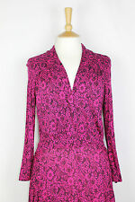 ex FCUK / French Connection Ladies Fitted Flared Dress all Over Printed