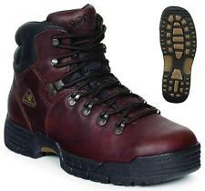 NEW Men's Rocky MobiLite Waterproof Steel Toe Leather Work Boots Brown FQ0006114