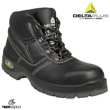 Delta Plus Panoply Jumper 2 S3 Black Leather Mens Water Resistant Safety Boots