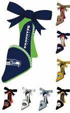 NFL Christmas Tree Hanging High Heel Shoe ORNAMENT - Pick Your Team - Great Gift