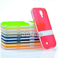 Stand Gel TPU Silicone Case Cover for Samsung Galaxy S4 mini, i9195 i9190