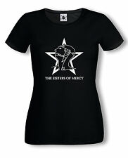 Sisters of Mercy T-Shirt | Girly | Gothic Rock | Stern | S-XL | versch. Farben