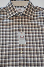 Hickey Freeman - Sterling Collection-Gingham Check Sport Shirt -Retail: $145.00