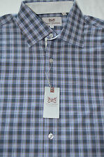 HICKEY FREEMAN - Man's Sterling Collection LS Plaid Shirts-  Retail: $145.00
