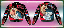 red cartoon character Taz JH nascar style jacket kids youth toddler