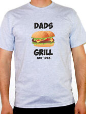 DADS GRILL EST 1984 - Cooking / Food / Father / Novelty Themed Mens T-Shirt
