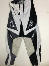CHEAP Fly Racing 805 Kinetic Pants Black Steel MX SX ATV OFF Road Clearance Sale