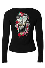 Voodoo Vixen - Siamese Twins Embroidered Cardigan