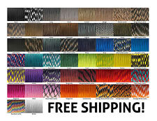 550 Paracord Parachute Cord Lanyard Mil Spec Type III 7 Strand Core 100FT 550lbs