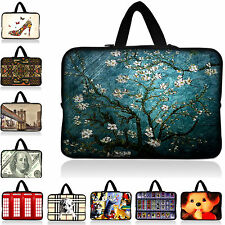 "Laptop Bag Case Cover Sleeve +Hide Handle Fit 17"" 17.3 17.4 Notebook Computer PC"