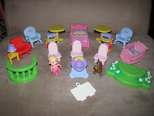 Fisher Price My First Dollhouse Replacements Figures & Accessory Furniture Parts
