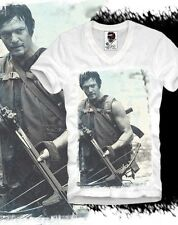 E1SYNDICATE V T SHIRT THE WALKING DEAD ZOMBIE DARYL DIXON DVD MONSTER TV S/M/L/X