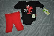Disney Minnie Mouse Merry Christmas Baby 2 Piece Bodysuit & Pants Set See Sizes