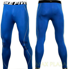 Mens Womens Compression tights sports Leggings skin Under Base Layer Long Pants