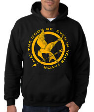HUNGER GAMES HOODIE Mockingjay Hooded Sweatshirt Catching Fire Rising Sun The 12