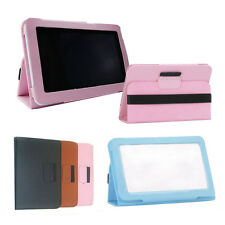 """Leather Case Stand Cover For Universal Android Tablet 7"""" 7.85"""" 8"""" 9"""" 9.7"""" 10.1"""""""
