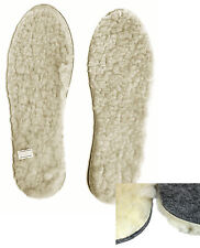 100%NEW QUALITY HEAT-SAVING WINTER INSOLES FOR SHOES SIZE EU30-46 OF FELT & WOOL