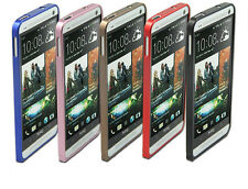 0.6mm Ultra-thin Aluminum Metal Alloy Bumper Frame Case for HTC ONE M7