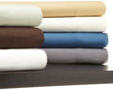 1800 Collection Micro-Silk 4 Piece Deep Pocked Bed Sheet Set with Aloe Treatment
