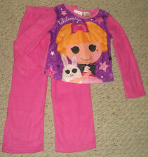 NWT Lalaloopsy Misty Mysterious 2-pc Flannel Pajamas Set Size 4/5 or 6/6X