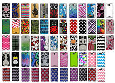 For LG Lucid 4G VS840 Colorful Designs Snap On Protective Hard Cover Phone Case