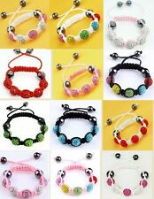 NEW GIRLS KIDS SHAMBALLA CRYSTAL(5 DISCO BALLS) CHILDRENS BRACELET XMAS GIFT