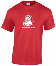 RUDOLPH ATE ALL THE PIES T-SHIRT GREAT GIFT FOR CHRISTMAS