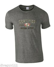Amphibious Outfitters T-Shirt - Certified Diver - Dark Heather Grey - Scuba Dive