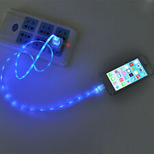 Cool Visible Light Luminous USB Data Transfer Charging Cable for iPhone 5G 5S 5C