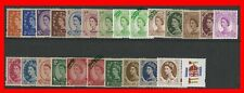 Complete Set of 24 1998 - 2003 Wilding Design Machins. UNMOUNTED MINT or USED.