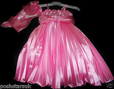 Light Pink Prom Pageant Flower Girl Bridesmaid Dance Ball Party Dress 2-12y Xmas