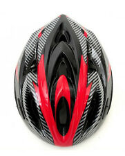 2013 NEW Bike/Bicycle/Cycling Helmet Carbon With Led & Visor 15 Air Vents 131-07