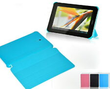 Four-Fold Flip Cover Case For Huawei MediaPad Youth S7-701 / Vogue S7-601 Tablet