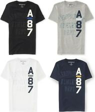 Aeropostale Mens A87 Vertical Graphic T Shirt Tee S,M,L,XL,2XL,3XL NEW NWT